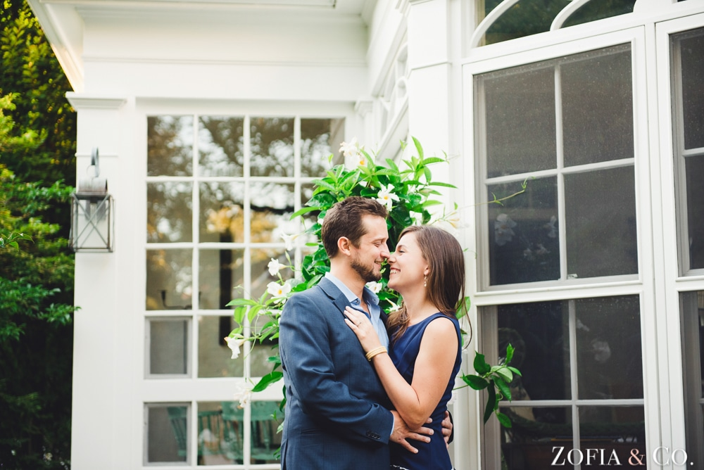 Nantucket Nautical Engagement Session by Zofia and Co.