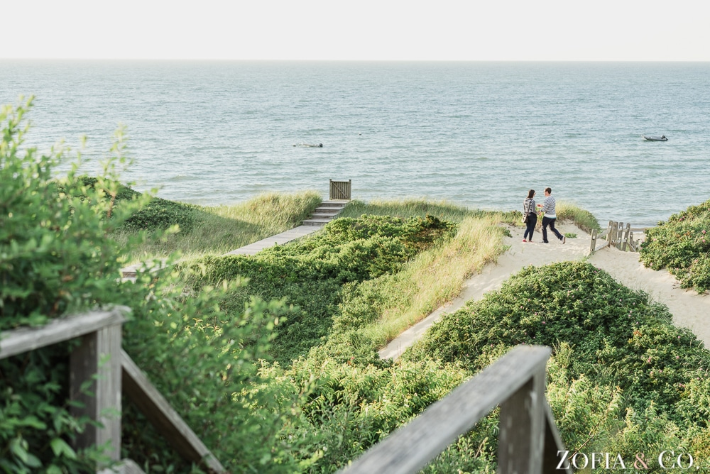 Nantucket Engagement Proposal Photography by Zofia and Co.