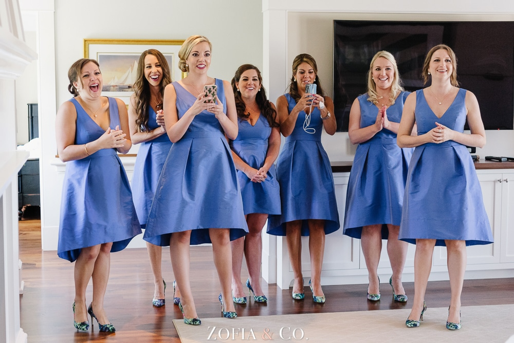 St Marys Church and Great Harbor Yacht Club Nantucket wedding by Zofia and Co. Photography 02