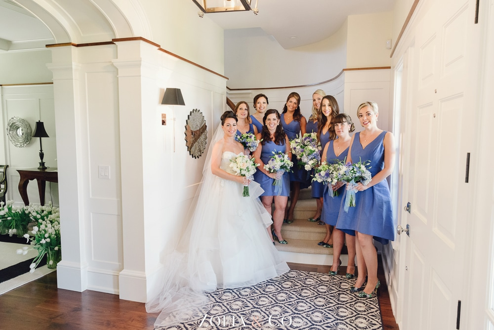 St Marys Church and Great Harbor Yacht Club Nantucket wedding by Zofia and Co. Photography 04