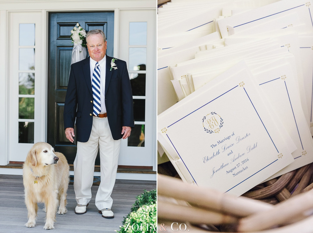 St Marys Church and Great Harbor Yacht Club Nantucket wedding by Zofia and Co. Photography 06