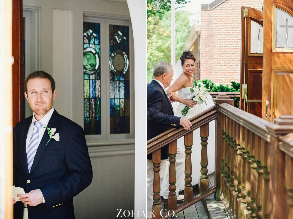 St Marys Church and Great Harbor Yacht Club Nantucket wedding by Zofia and Co. Photography 09