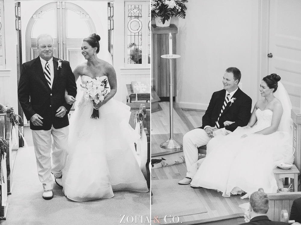 St Marys Church and Great Harbor Yacht Club Nantucket wedding by Zofia and Co. Photography 11