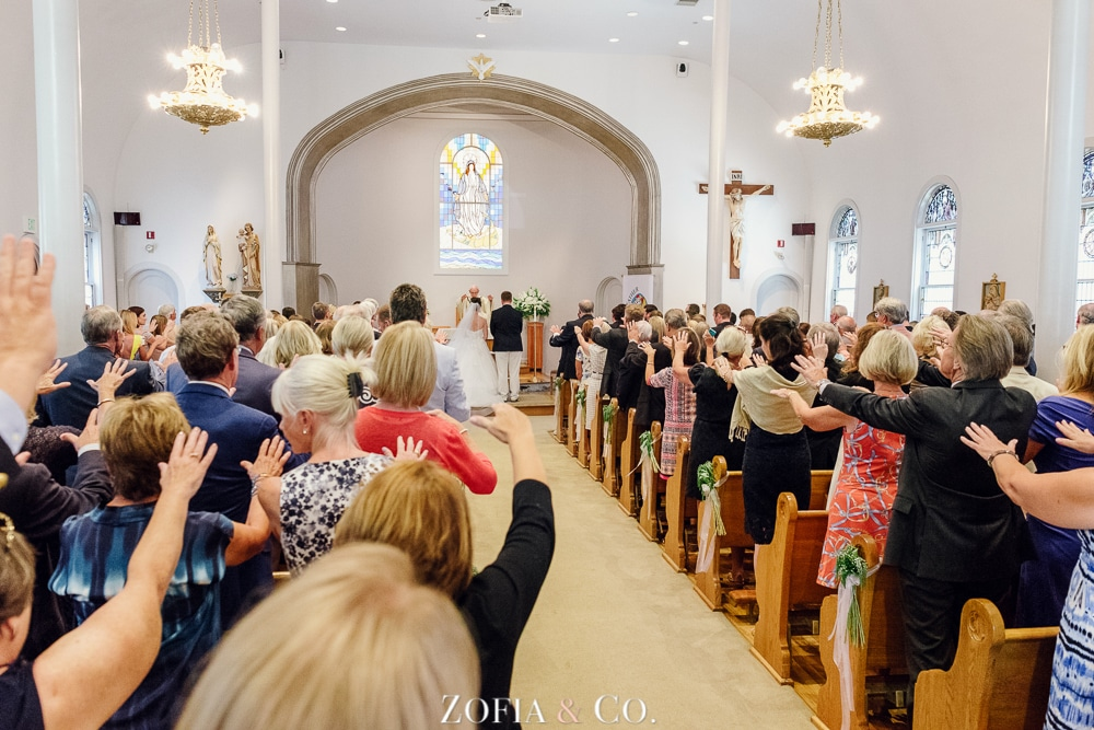 St Marys Church and Great Harbor Yacht Club Nantucket wedding by Zofia and Co. Photography 14
