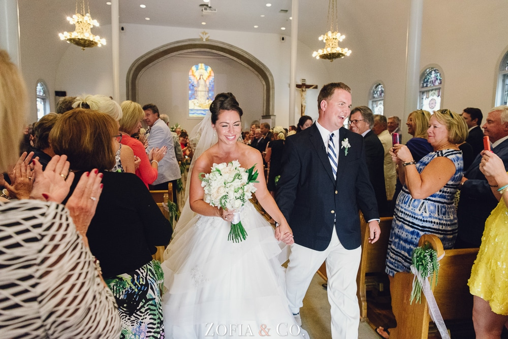 St Marys Church and Great Harbor Yacht Club Nantucket wedding by Zofia and Co. Photography 15