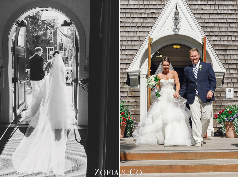 St Marys Church and Great Harbor Yacht Club Nantucket wedding by Zofia and Co. Photography 16