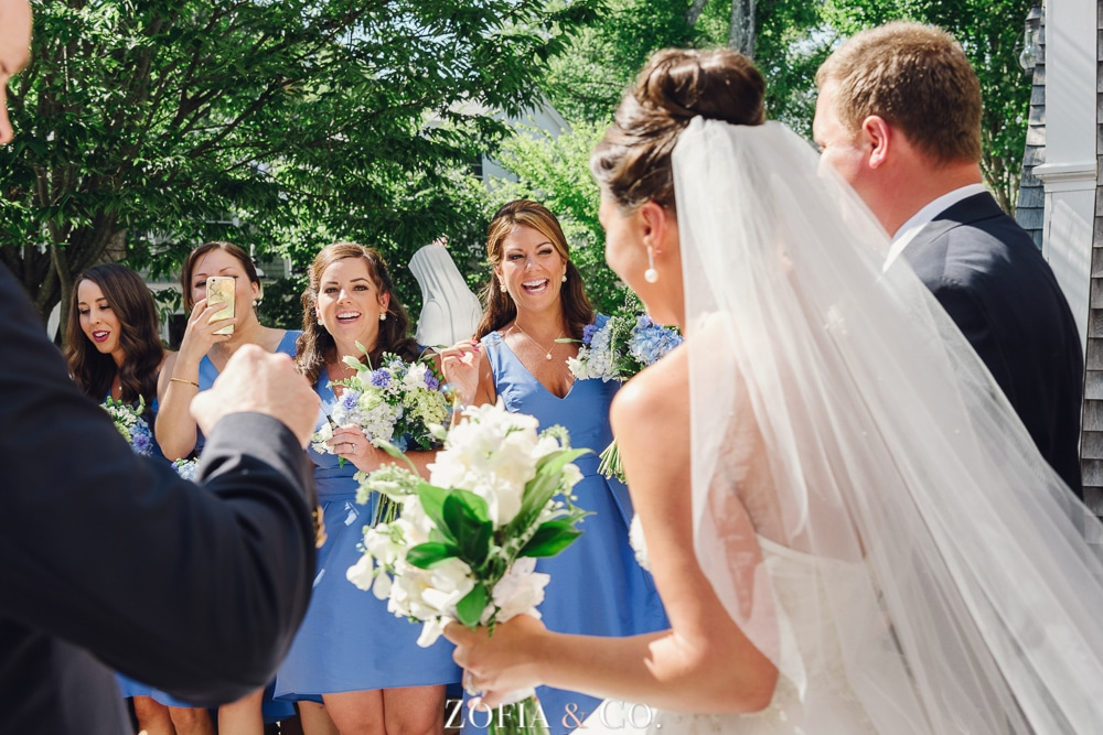 St Marys Church and Great Harbor Yacht Club Nantucket wedding by Zofia and Co. Photography 19