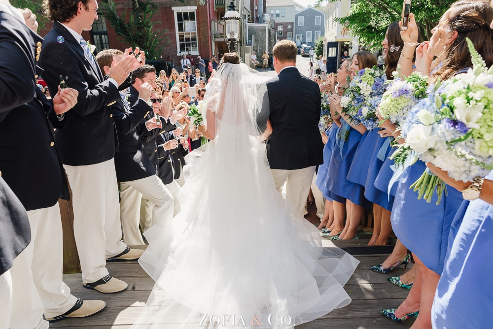 St Marys Church and Great Harbor Yacht Club Nantucket wedding by Zofia and Co. Photography 20