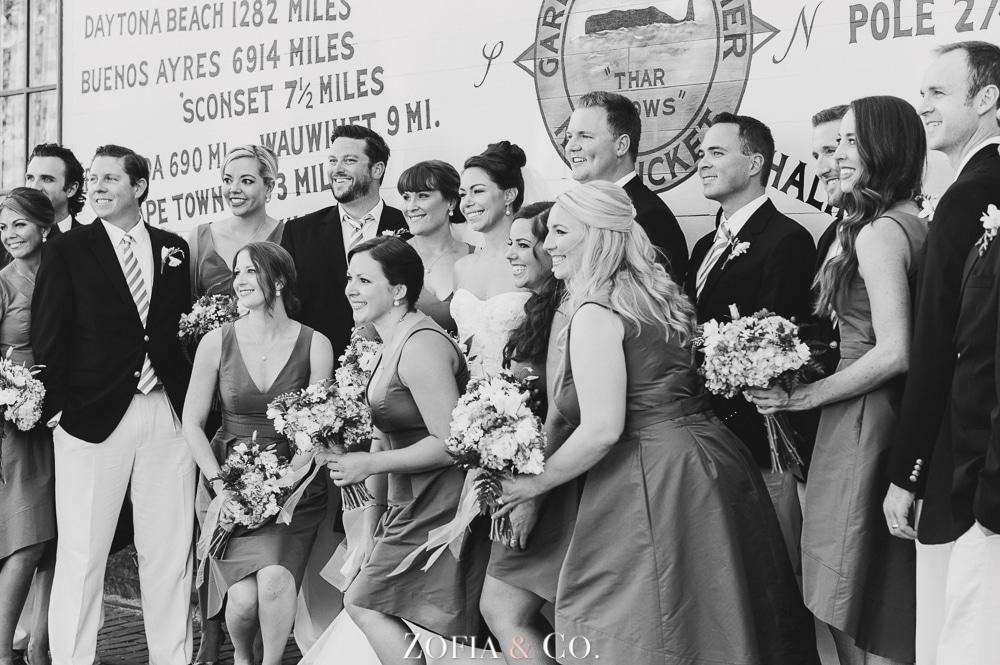 St Marys Church and Great Harbor Yacht Club Nantucket wedding by Zofia and Co. Photography 24