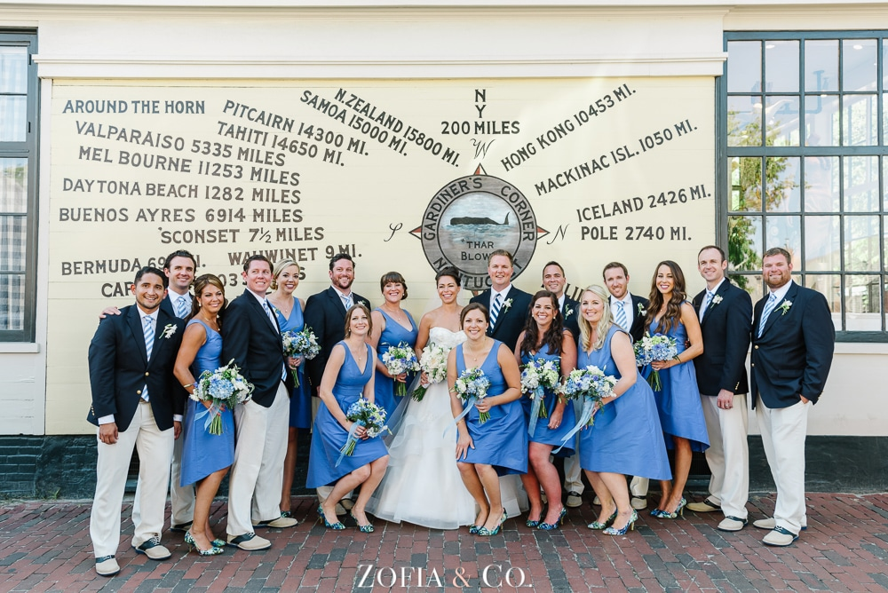 St Marys Church and Great Harbor Yacht Club Nantucket wedding by Zofia and Co. Photography 25