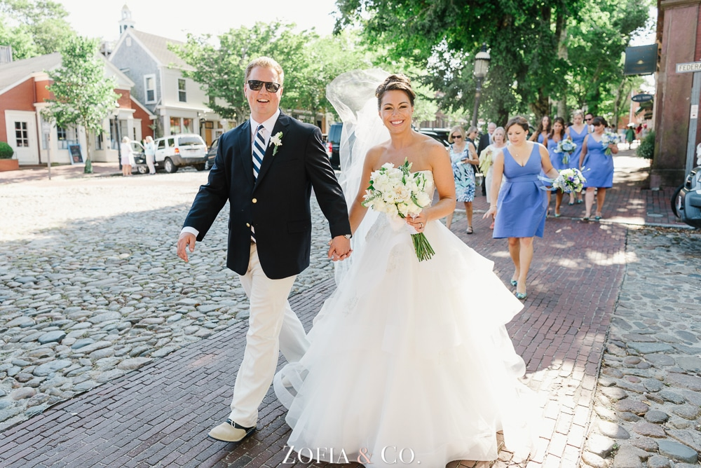 St Marys Church and Great Harbor Yacht Club Nantucket wedding by Zofia and Co. Photography 28