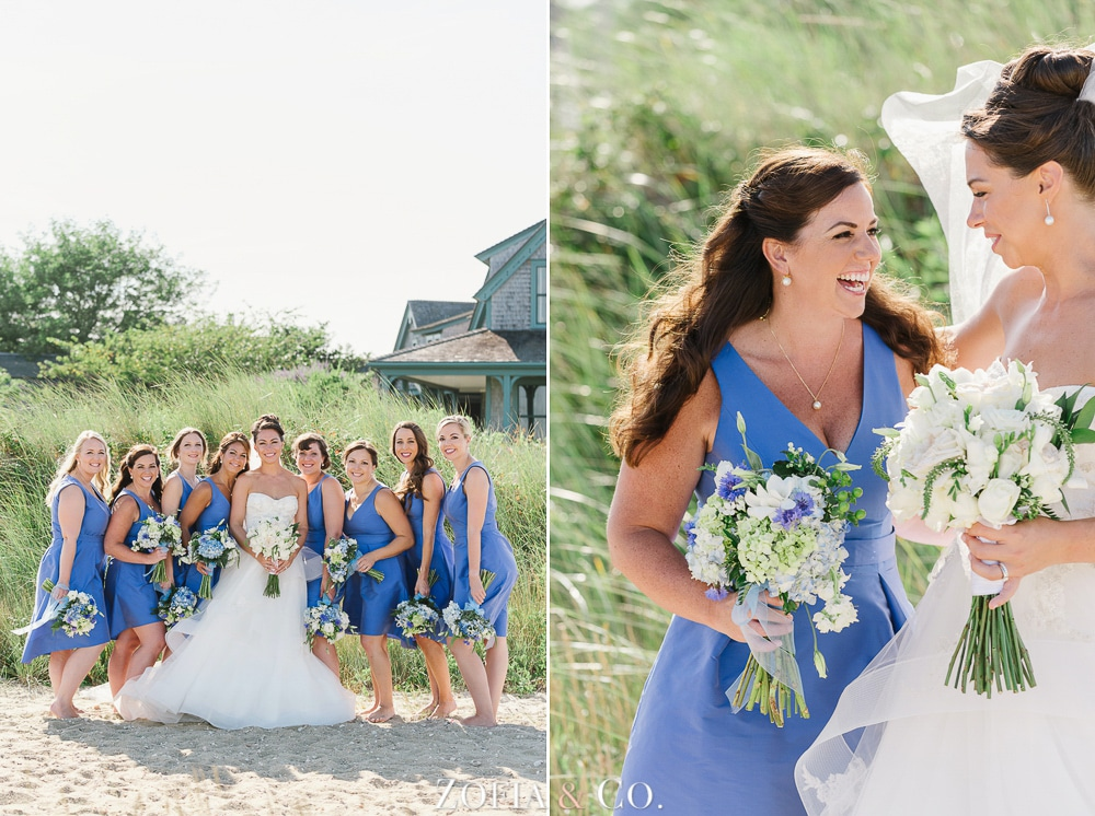 St Marys Church and Great Harbor Yacht Club Nantucket wedding by Zofia and Co. Photography 30