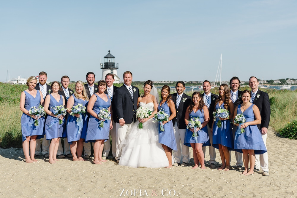 St Marys Church and Great Harbor Yacht Club Nantucket wedding by Zofia and Co. Photography 32