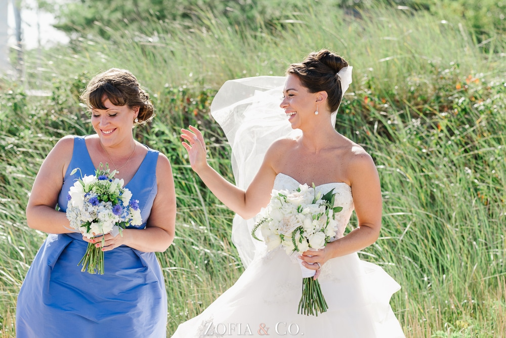 St Marys Church and Great Harbor Yacht Club Nantucket wedding by Zofia and Co. Photography 33