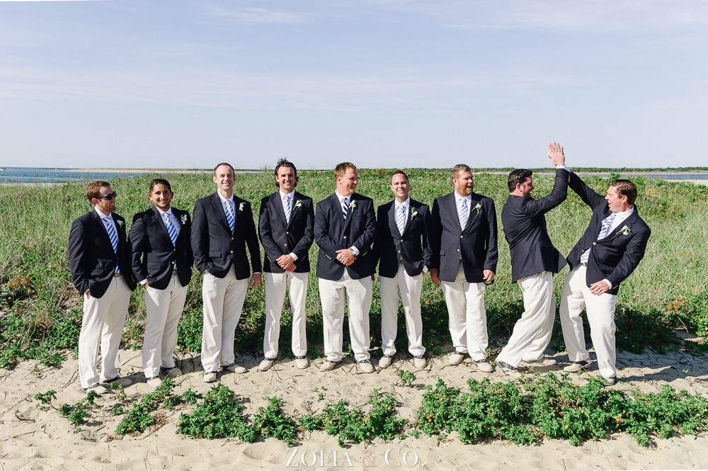 St Marys Church and Great Harbor Yacht Club Nantucket wedding by Zofia and Co. Photography 34