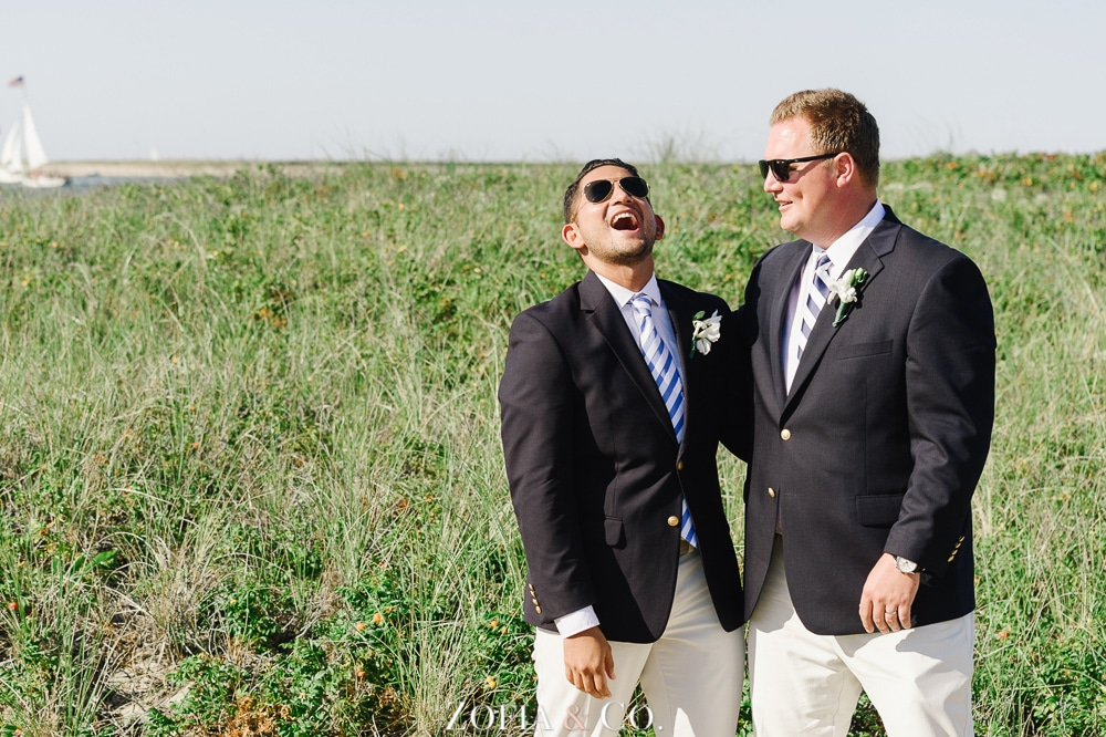 St Marys Church and Great Harbor Yacht Club Nantucket wedding by Zofia and Co. Photography 35