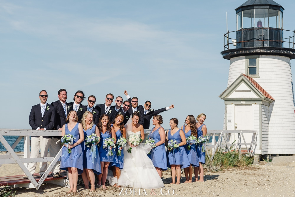 St Marys Church and Great Harbor Yacht Club Nantucket wedding by Zofia and Co. Photography 36