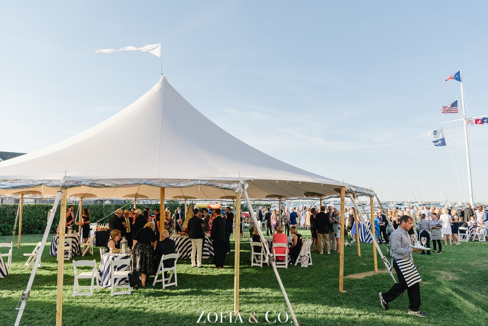 St Marys Church and Great Harbor Yacht Club Nantucket wedding by Zofia and Co. Photography 42
