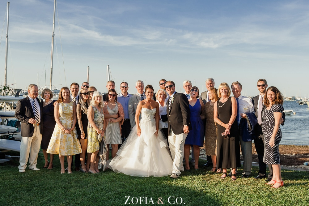 St Marys Church and Great Harbor Yacht Club Nantucket wedding by Zofia and Co. Photography 44