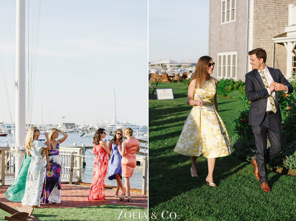 St Marys Church and Great Harbor Yacht Club Nantucket wedding by Zofia and Co. Photography 46