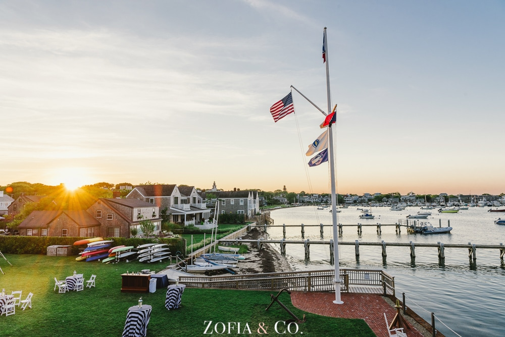 St Marys Church and Great Harbor Yacht Club Nantucket wedding by Zofia and Co. Photography 54