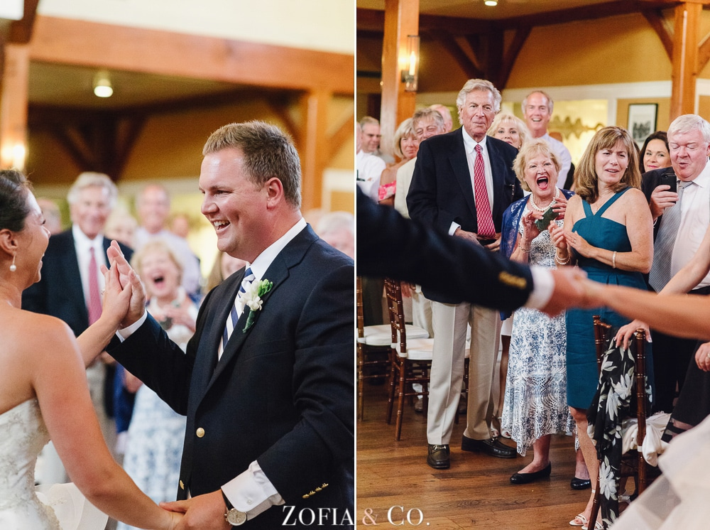 St Marys Church and Great Harbor Yacht Club Nantucket wedding by Zofia and Co. Photography 55