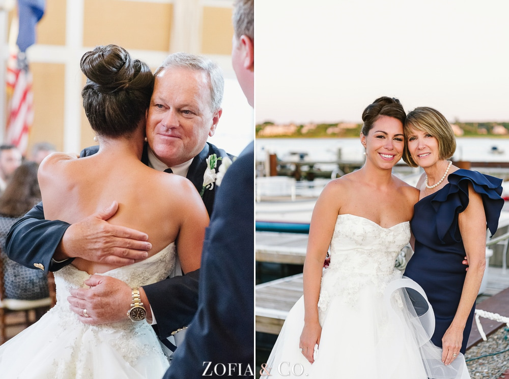 St Marys Church and Great Harbor Yacht Club Nantucket wedding by Zofia and Co. Photography 57