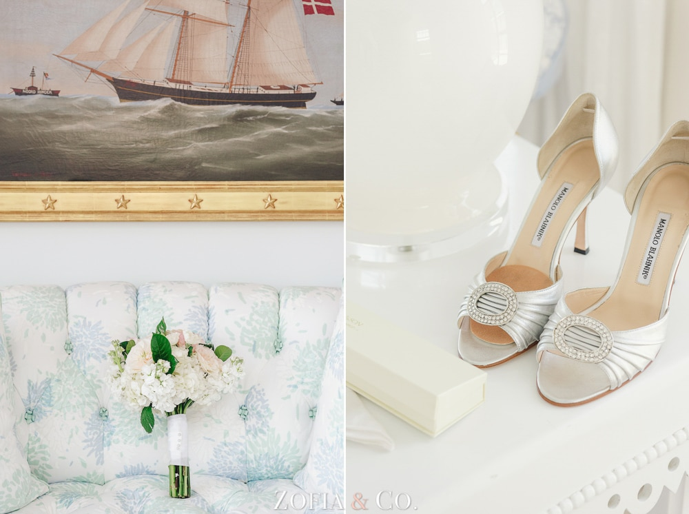 Nantucket wedding at St Mary's Church and White Elephant Hotel by Zofia and Co.