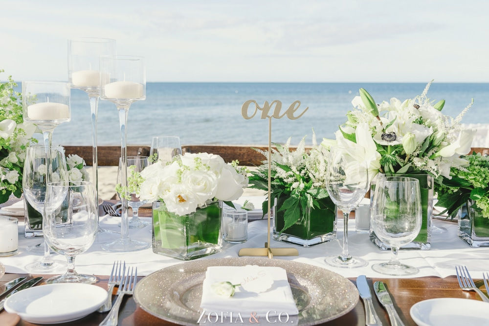 Nantucket wedding photographer at the Galley Beach marriage ceremony and reception by Zofia and Co.