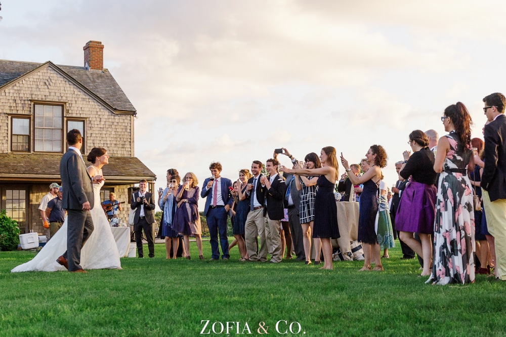 Nantucket wedding photography at Unitarian Church and Ducksholm Shawkemo Private Home by Zofia and Co.