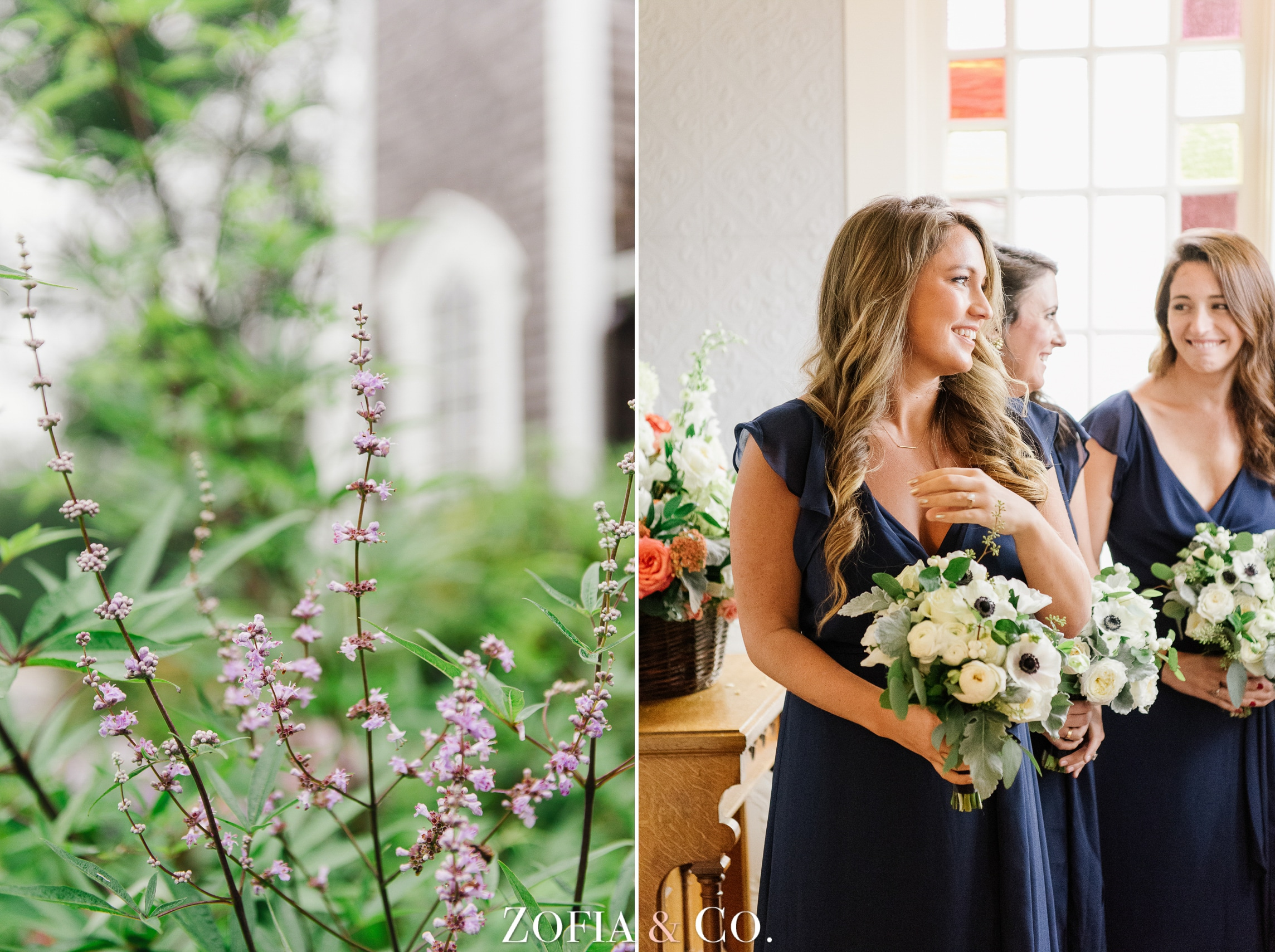 Nantucket wedding at Sconset Chapel and Sankaty Head Golf Club by Zofia and Co.