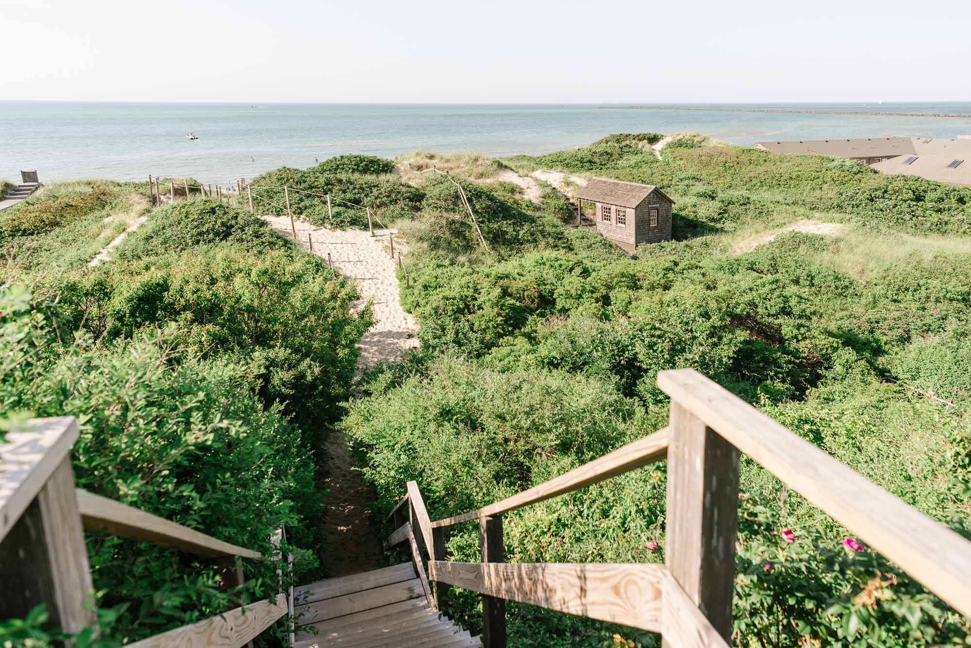 Nantucket Covid-19 beach wedding elopement